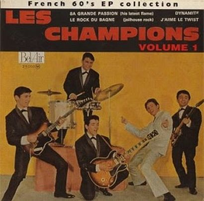 Champions - French 60's EP Collection Vol 1 (1995).JPG