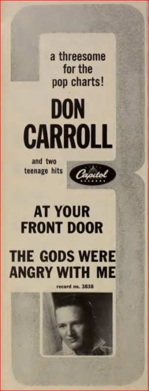DON CARROLL - Italian Rock And Roll