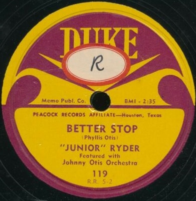 JUNIOR RYDER