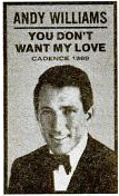 Andy Williams - Cadence records - 1961-02-13.png