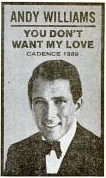 Andy Williams - Cadence records - 1961-02-20.png