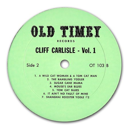 Carlisle, Cliff - Old Timey Vol 1 (4).jpg