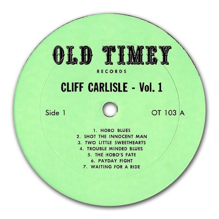 Carlisle, Cliff - Old Timey Vol 1 (3).jpg