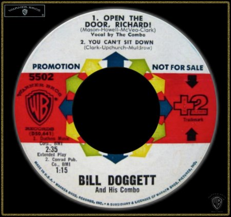 BILL DOGGETT - OPEN THE DOOR RICHARD_IC#002.jpg