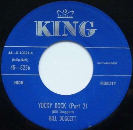 BILL DOGGETT - Yocky Dock (Part 2) -B1-.JPG