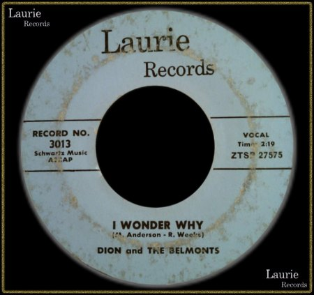 DION & THE BELMONTS - I WONDER WHY_IC#002.jpg