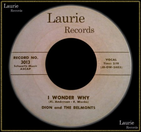 DION & THE BELMONTS - I WONDER WHY_IC#003.jpg