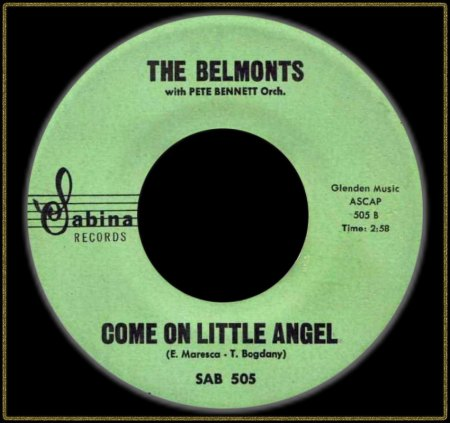 BELMONTS - COME ON LITTLE ANGEL_IC#004.jpg
