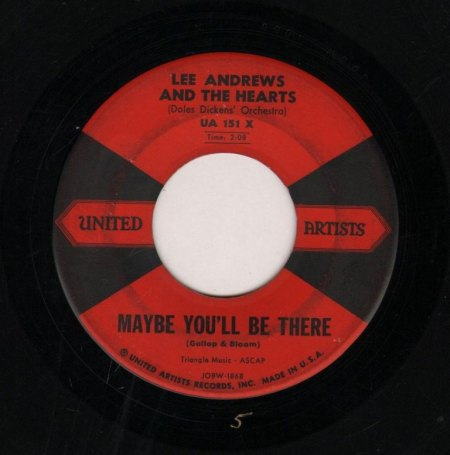 LEE ANDREWS & THE HEARTS - Maybe you'll be there -B-.JPG