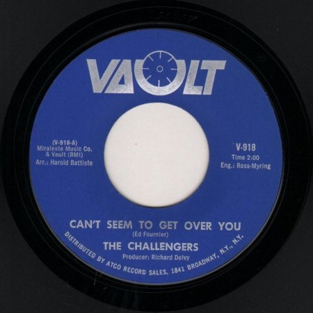 CHALLENGERS - Can't seem to get over you -B-.JPG