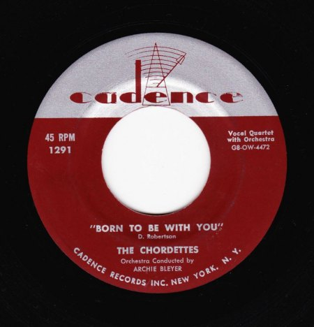 CHORDETTES - Born to be with you -A-.JPG