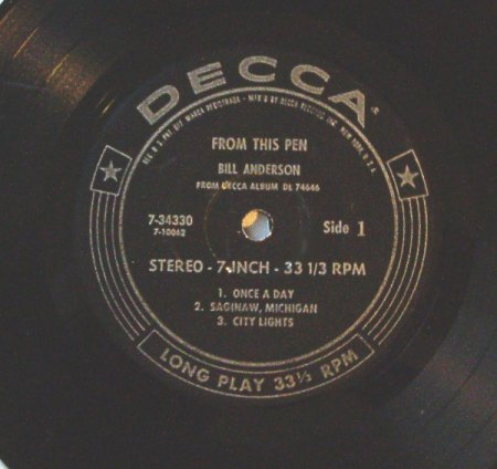 Anderson, Bill - From This Pen(Decca) 1965 (2).jpeg