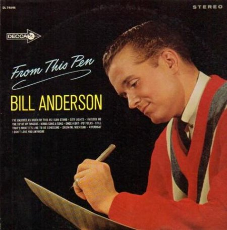 Anderson, Bill - From This Pen(Decca) 1965.jpg