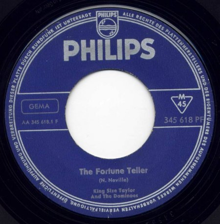 Taylor,King Size08The Fortune Teller Philips 345.618 PF.JPG