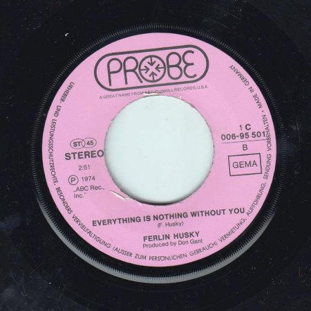 FERLIN HUSKY - Everything is nothing without you -B-.jpg