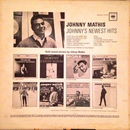 Mathis, Johnny - Johnny's newest Hits (2).jpg