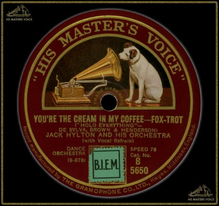 JACK HYLTON - YOU'RE THE CREAM OF MY COFFEE_IC#002.jpg