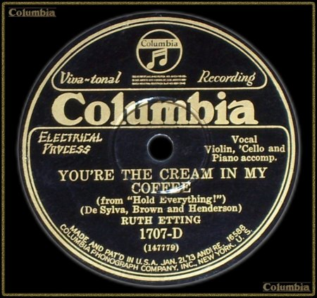 RUTH ETTING - YOU'RE THE CREAM IN MY COFFEE_IC#002.jpg