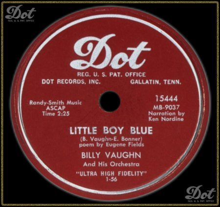 BILLY VAUGHN - LITTLE BOY BLUE_IC#002.jpg
