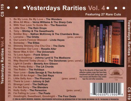 Yesterdays Rarities - Vol. 4 - Back Cover.jpg