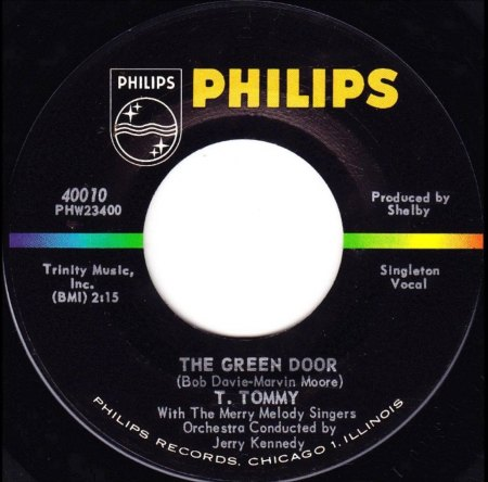 Cutrer.T. Tommy11The Green Door Philips 40010.jpg