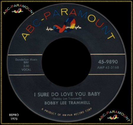 BOBBY LEE TRAMMELL - I SURE DO LOVE YOU BABY_IC#004.jpg