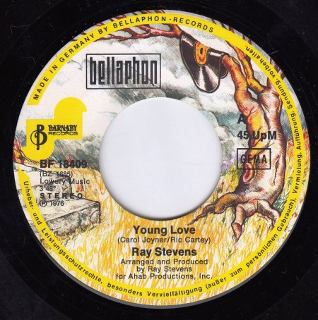 RAY STEVENS - Young Love -A-.jpg