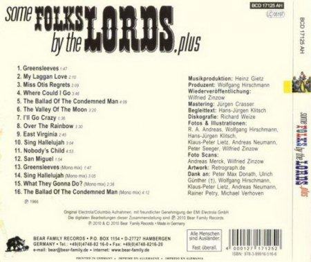 Lords - Some Folks by the Lords xx.jpg