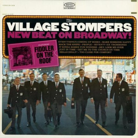 The Village Stompers - New beat on Broadway.jpg