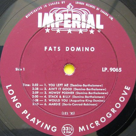 Domino, Fats - Let's play - rotes Label Imperial LP (3).jpeg