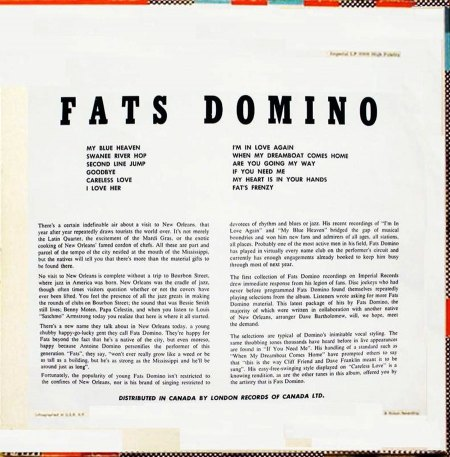 Domino, Fats - Rock and Rollin' - - (2).JPG