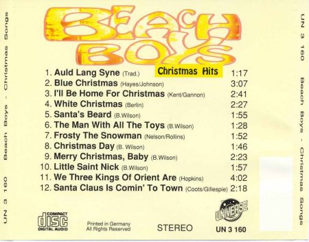 Beach Boys - Christmas Hits (2).Jpg