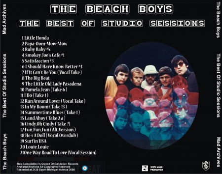Beach Boys - Best of Studio Sessions (2).jpg