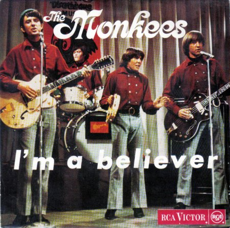 The Monkees - I'm a Believer (EP 1966) - FRONT.JPG