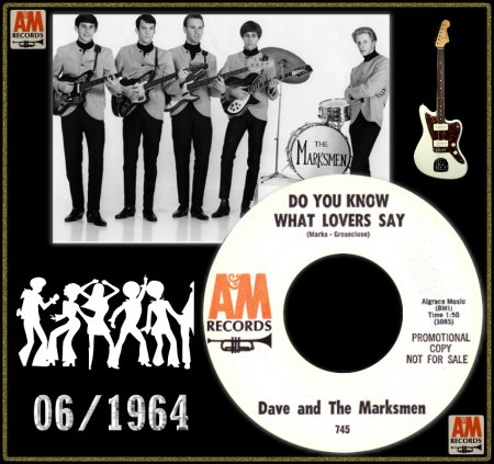 DAVID MARKS & THE MARKSMEN - DO YOU KNOW WHAT LOVERS SAY_IC#001.jpg