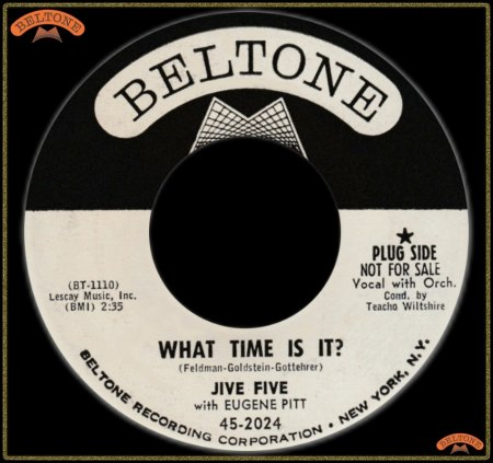 JIVE FIVE WITH EUGENE PITT - WHAT TIME IS IT_IC#003.jpg