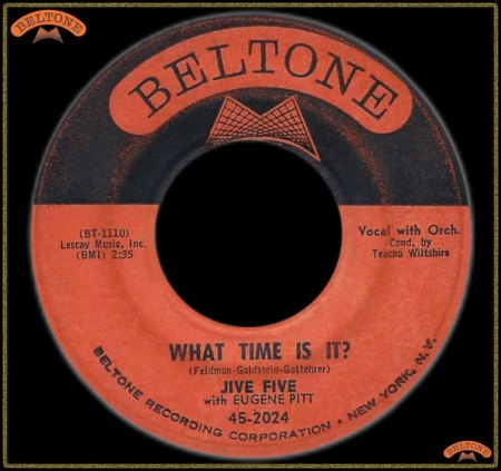 JIVE FIVE WITH EUGENE PITT - WHAT TIME IS IT_IC#002.jpg