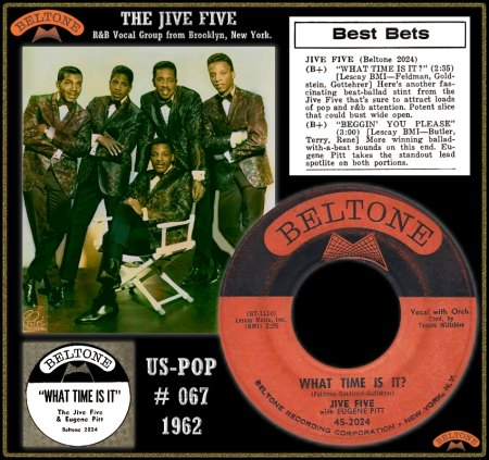 JIVE FIVE WITH EUGENE PITT - WHAT TIME IS IT_IC#001.jpg