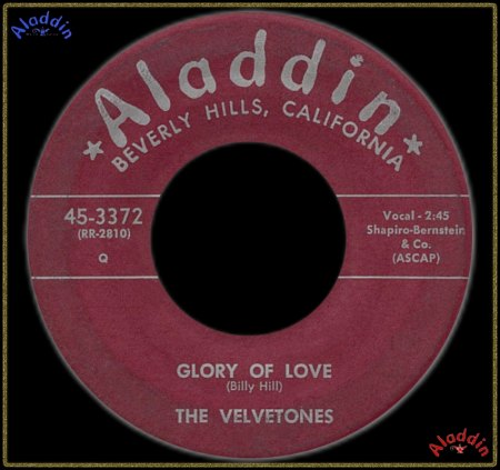 VELVETONES (LOS ANGELES) - GLORY OF LOVE_IC#003.jpg