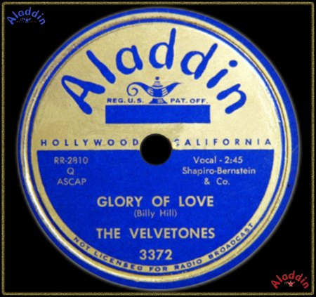 VELVETONES (LOS ANGELES) - GLORY OF LOVE_IC#002.jpg