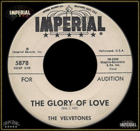 VELVETONES (LOS ANGELES) - GLORY OF LOVE_IC#006.jpg