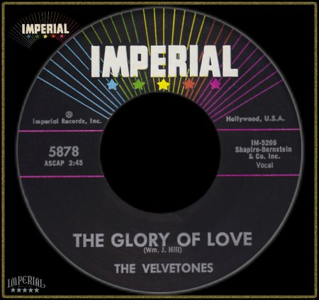 VELVETONES (LOS ANGELES) - GLORY OF LOVE_IC#005.jpg