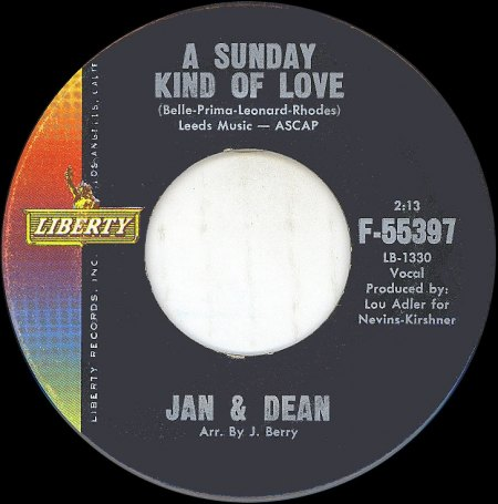Jan & Dean_A Sunday Kind Of Love_Liberty-55397.jpg
