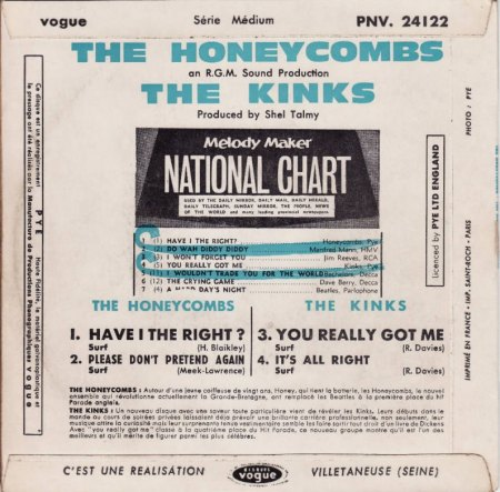 Honeycombs - EP & Kinks_3.JPG