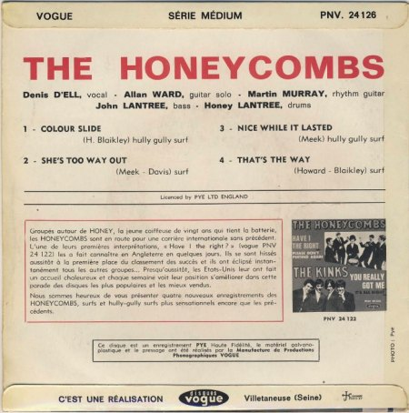 Honeycombs - EP That's the way _3.jpg