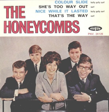 Honeycombs - EP That's the way _2.JPG