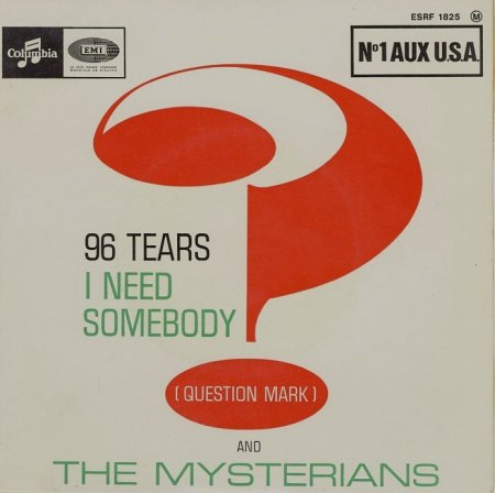 Question Mark & the Mysterians - 96 tears EP (1).jpg