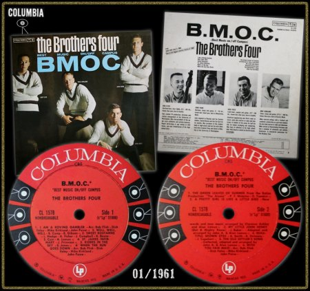 BROTHERS FOUR - COLUMBIA LP CL-1578_IC#001.jpg