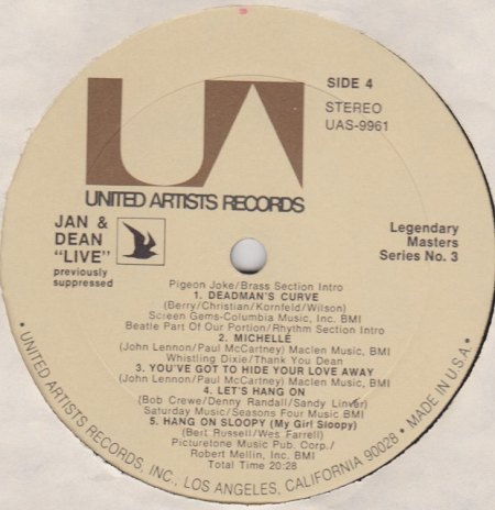 Jan & Dean - US LP's