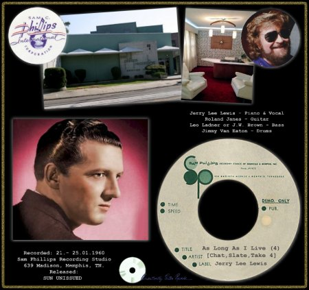 JERRY LEE LEWIS - AS LONG AS I LIVE (4) [CHAT, SLATE, TAKE 4]